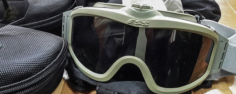 Goggles and sleeping bags for Alpha