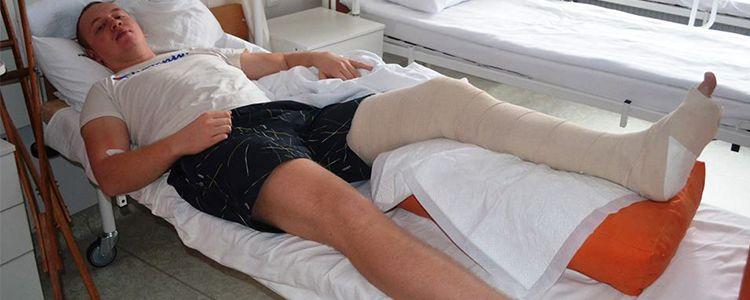 Oleksandr undergoes main surgery