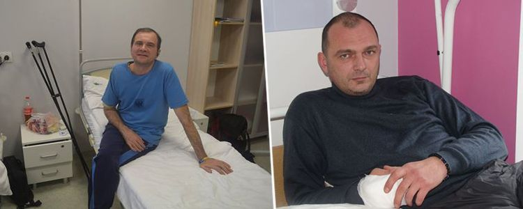 Second surgery performed on Valeriy's forearm and Vladislav's treatment starts