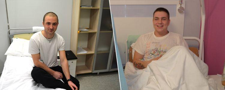Завершено перший етап лікування Ігоря та Дмитра