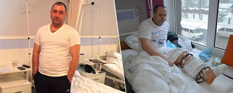 Ivan's bone treatment complete and Andriy begins treatment