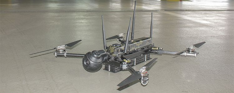 Quadcopter PC-1 for 'Aydar' battalion