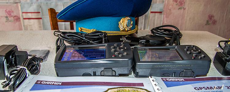 Два навігатора Garmin GPSMAP передали пілотам штурмовиків