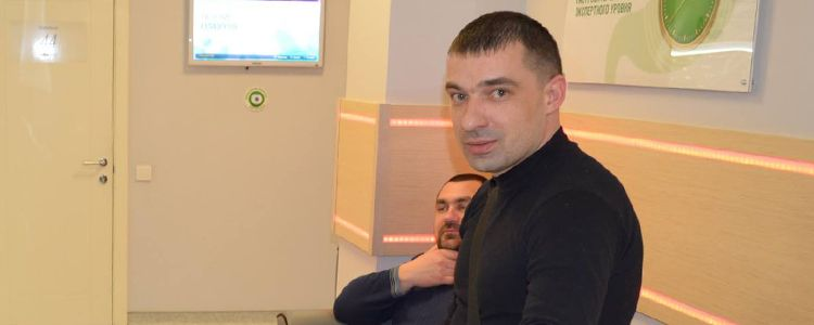 Volodymyr completes treatment and will soon walk again
