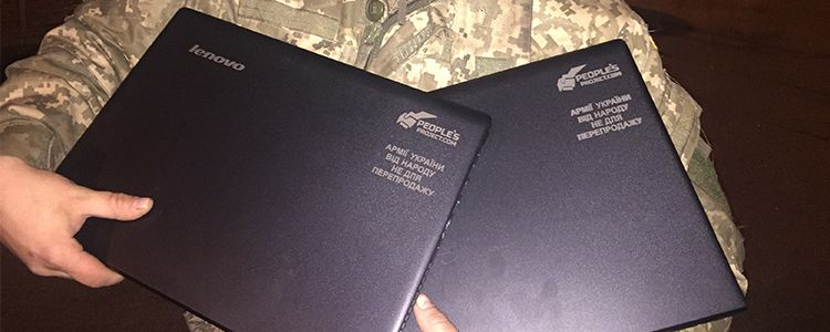 Laptops delivered to 10th Mountain-Assault Brigade