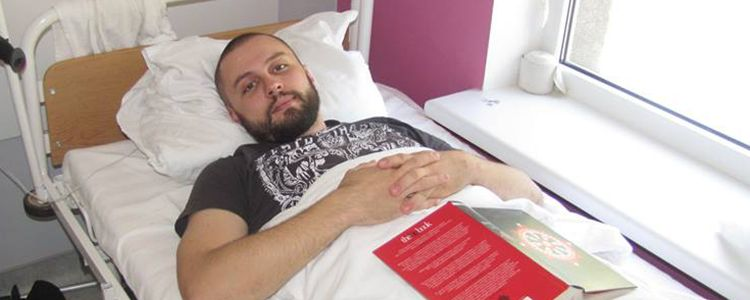 Oleksandr P, 28. Additional stage of treatment due to the trauma | People's project