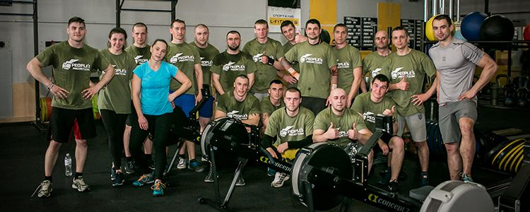 Second training of military trainers in CrossFit