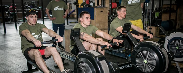 Elite military training begins