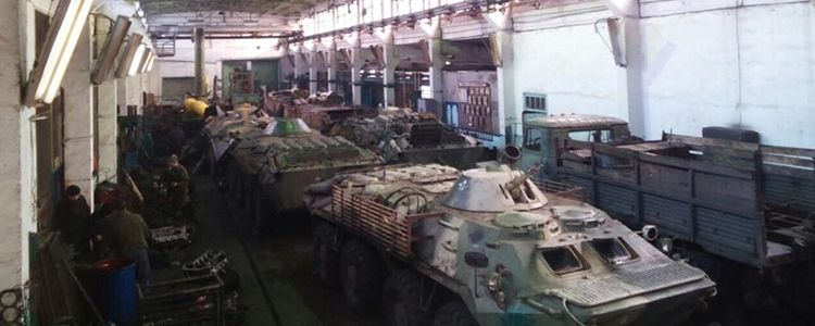 Military have more repaired vehicles