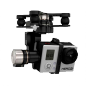 Gyro-stabilized gimbal for GoPro camera