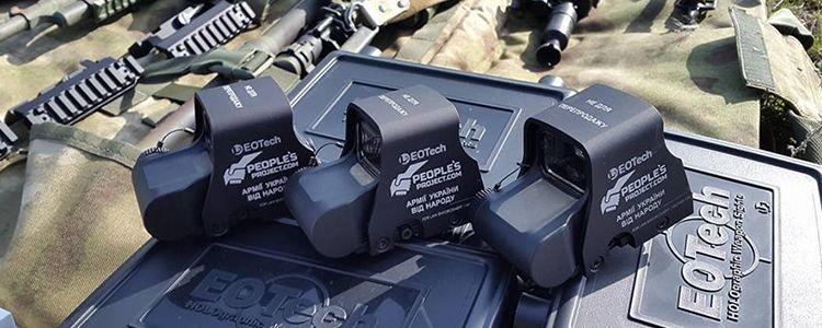 "Unit ""Owl"" stationed in Avdiivka receives gear for night warfare"