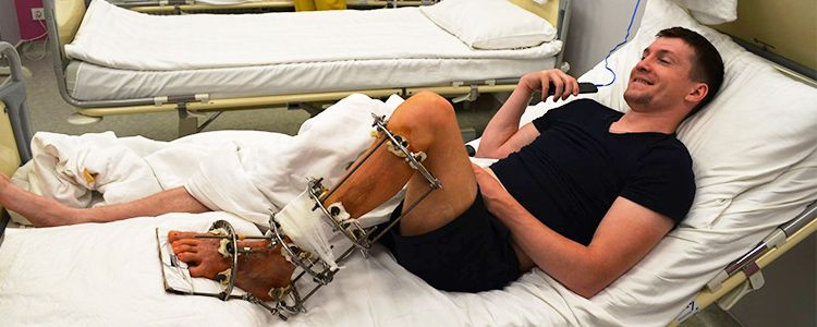 Vitaliy K, 26. Main treatment stages completed. Rehabilitation is in progress | People's project