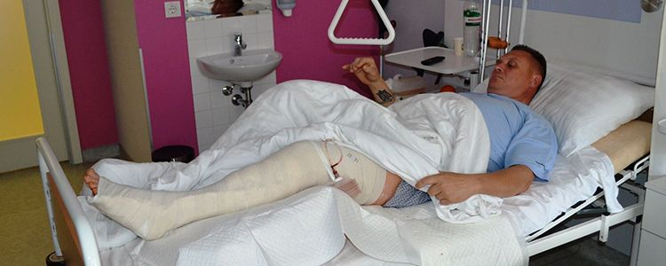 Yuriy's first phase of treatment nears completion
