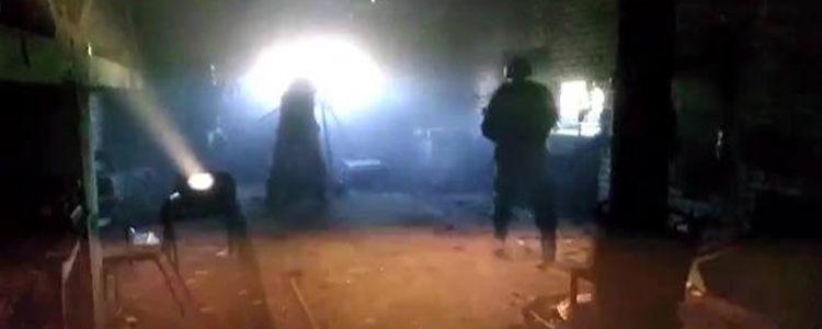 Волонтери показали відео обстрілу промзони Авдіївки