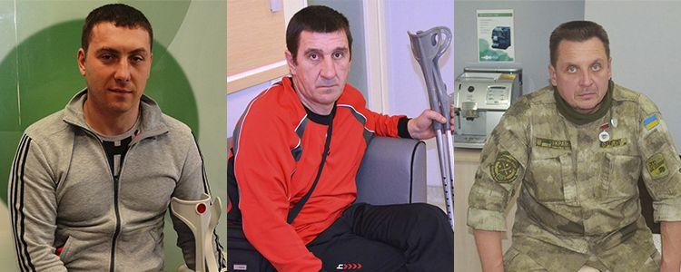 Рятуємо від інвалідності ще трьох бійців – потрібна негайна допомога