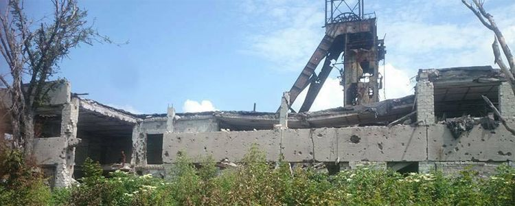Butovka mine collapses due to shelling, dead and wounded.