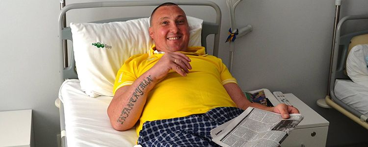 Serhiy D, 40. Treatment completed, rehabilitation is in progress | People's project