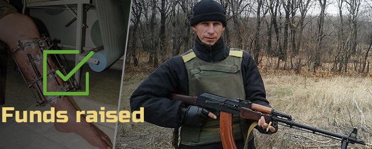 Volodymyr S, 37. Treatment is in progress