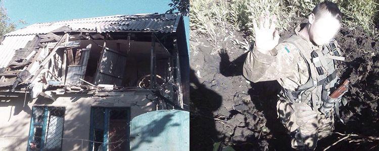 Massive nighttime bombardment by Russian terrorists in Avdiivka