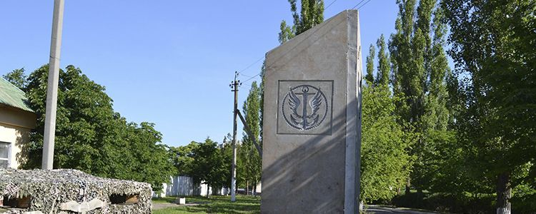 Memorial to Ukraine's fallen marines to be unveiled soon, yet remains unfinished.