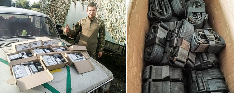Motorola digital radios delivered to 43rd Battalion stationed in Zaitseve