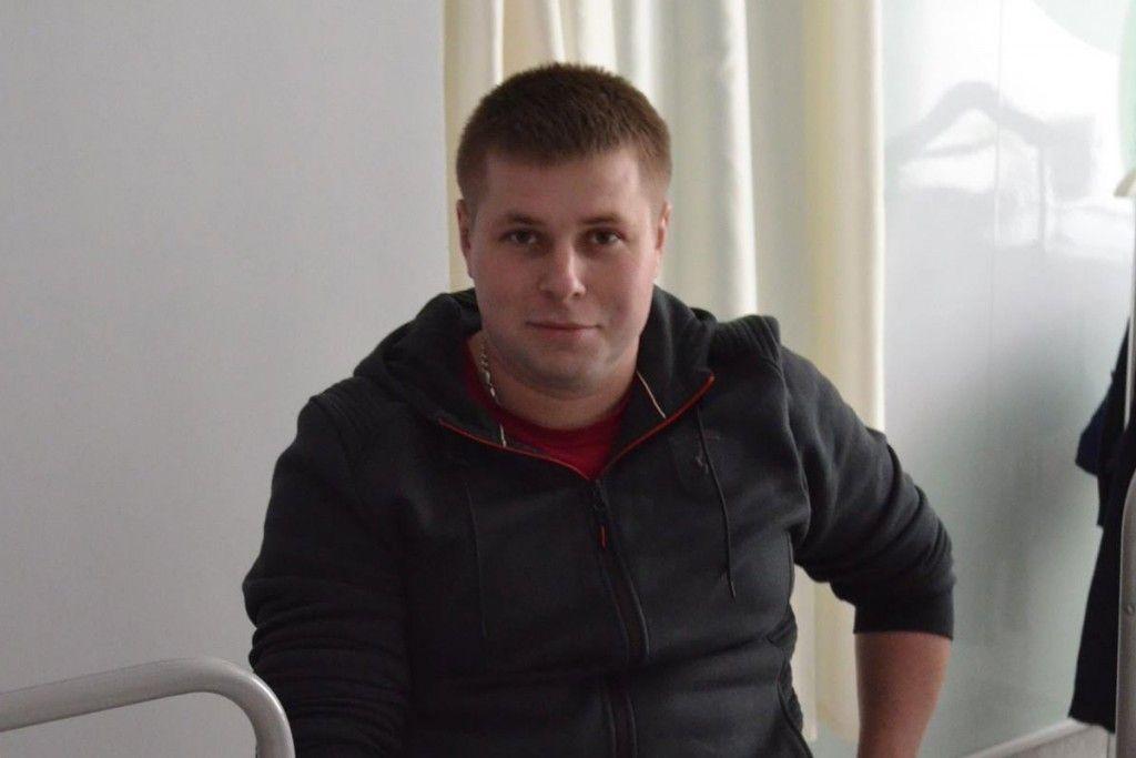 Поранений Віктор - Біотех-реабілітація поранених