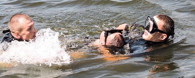 Захист з моря: як тренувалися військові водолази морської охорони
