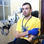 Захисник ДАП дякує лікарям і волонтерам за збереження тяжко пошкодженої руки