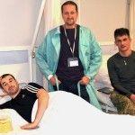 Бійця, який вивозив поранених з Дебальцево, нові технології ставлять на ноги