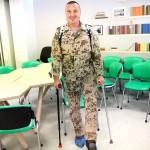 Поранений під Авдіївкою боєць, що взагалі не мав ходити, прийшов на огляд на власних ногах