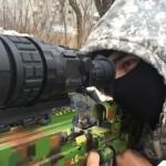 Теплоприціл для снайперів: як гвинтівка врятувала життя українському бійцю