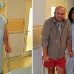 Українські лікарі-біотехнологи врятували бійця від інвалідності