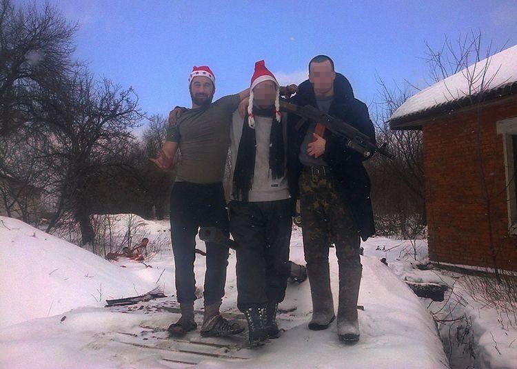 Dmytro with fellows