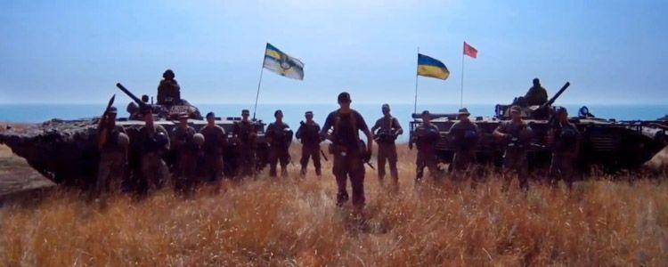 """Відео: волонтери показали повідомлення морпіхів до терористів банди """"Гіві"""""""