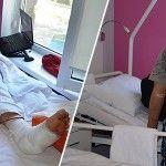 Українські лікарі врятували ногу розвідникові 93 ОМБР, пораненому під ДАП