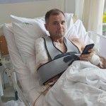 Бійцю, пораненому біля ДАПу відновили плечовий суглоб