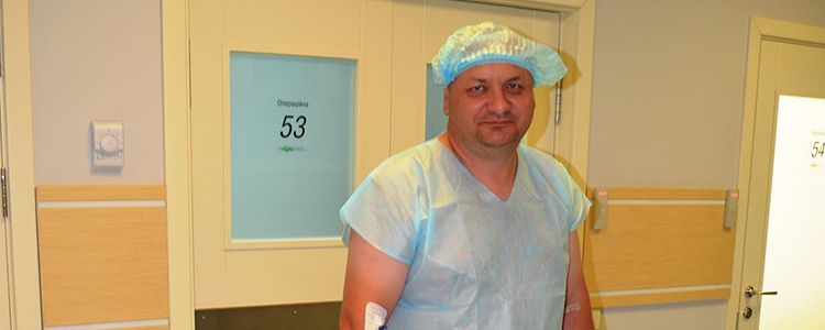 Andriy's external fixation device is removed, treatment is completed