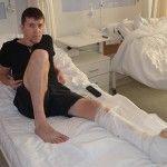 Життя після фронту: клітинні технології поставили на ноги українського захисника