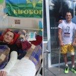 Новини Біотехнологи врятували від інвалідності бійця АТО із потрощеним хребтом