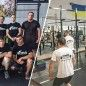 Volunteers update project designed to enhance physical training for military