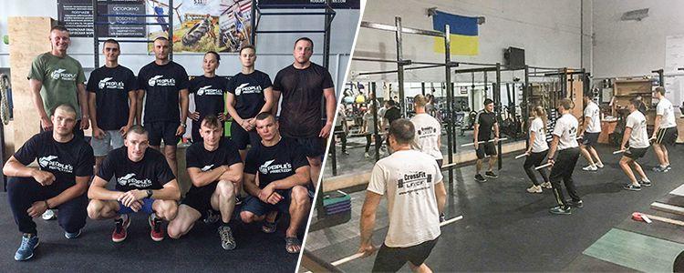 Волонтери поновили проект з посиленої фізпідготовки військовослужбовців