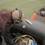 Волонтеры научили первых военных водолазов противостоять диверсиям