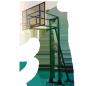 Баскетбольна стійка на 3 опори