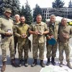 Годовщина освобождения Торецка: волонтеры показали, как бойцы АТО бились за город