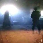 Появилось видео мощного обстрела Авдеевки