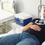 Нейротравму бійця лікують клітинними технологіями в столичній клініці