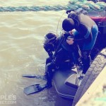 Как готовят военных водолазов: Волонтеры показали экстремальное видео