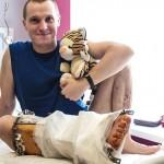 ВИДЕО. С помощью непризнанных в Украине биотехнологий бойца АТО спасли от ампутации