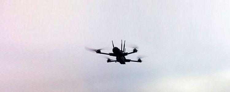 Квадрокоптер PC-1 розкрив приховані позиції бойовиків