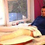 Боєць, якому граната знищила суглоб під Луганськом, повернувся до повноцінної служби після біологічного відновлення